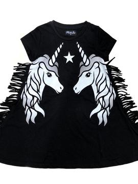 Plastic Jus Unicorn Fringe Dress - Plastic Jus