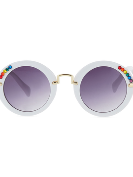 Bari Lynn Rainbow Crystal Sunglasses - Bari Lynn Accessories