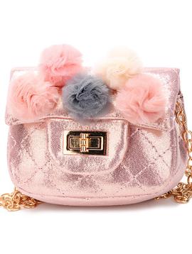 Survolte Pom Pom Shimmer Bag