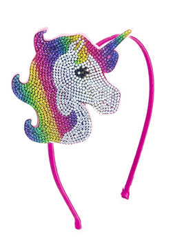 Bari Lynn Headband - Rainbow Unicorn - Bari Lynn Accessories