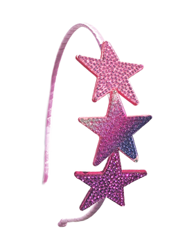 Bari Lynn Headband - Crystallized Stars - Bari Lynn Accessories