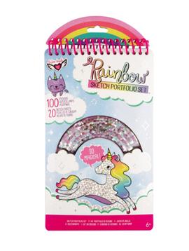 Fashion Angels Rainbow Sketch Portfolio - Fashion Angels
