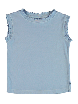molo Rozlynn Top - Sky Blue - Molo Kids Clothing