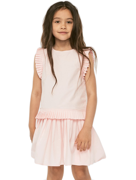 molo Cibbe Dress - Morning Rose - Molo Kids Clothing
