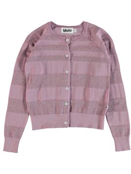 molo Gigi Cardigan - Lavender - Molo Kids Clothing