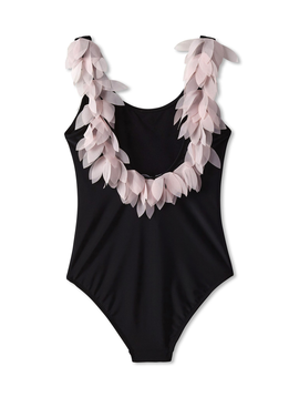Stella Cove Pink Petal Black Swimsuit - Stella Cove Swimwear