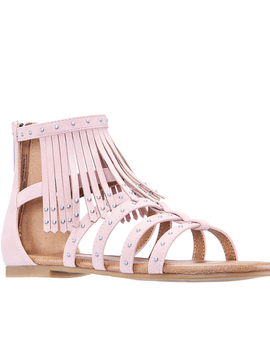 Nina Cybil Sandal - Blush Suede - Nina Kids Shoes