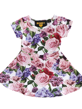 Romey Loves Lulu Skater Dress - Roses - Romey Loves Lulu