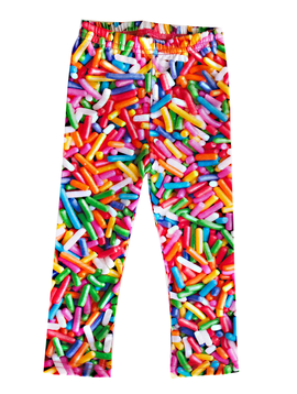 Romey Loves Lulu Legging - Rainbow Sprinkles - Romey Loves Lulu