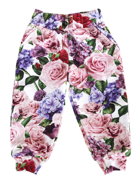 Romey Loves Lulu Sweatpant - Roses - Romey Loves Lulu