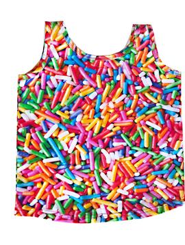 Romey Loves Lulu Tank - Rainbow Sprinkles - Romey Loves Lulu