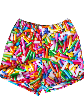 Romey Loves Lulu Shorts - Rainbow Sprinkles - Romey Loves Lulu