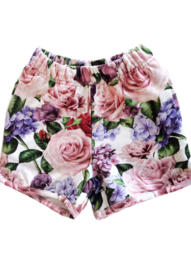 Romey Loves Lulu Shorts - Roses - Romey Loves Lulu