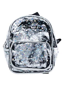 Fashion Angels Transparent Star Shaker Mini Backpack - Fashion Angels