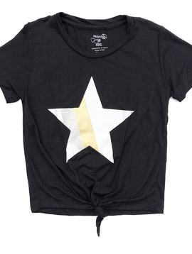 Flowers by Zoe Knotted Tee w Star - Flowers By Zoe