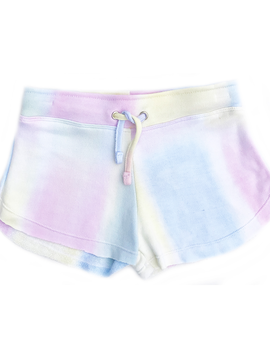 Flowers by Zoe Pastel Tie Dye Short - Flowers By Zoe