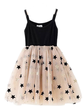 Survolte Star Tulle Dress