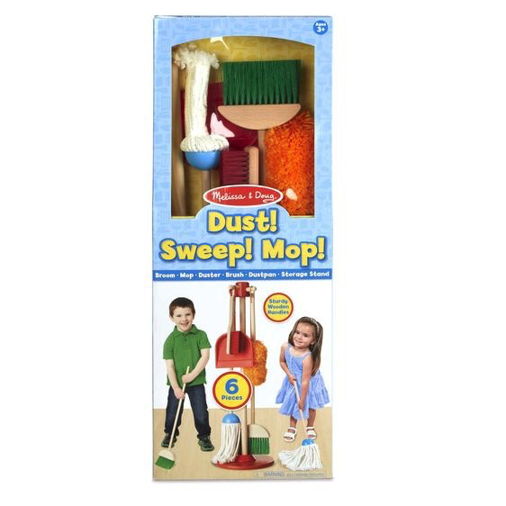 Melissa and Doug Let's Play House! Dust! Sweep! Mop! - Melissa and Doug