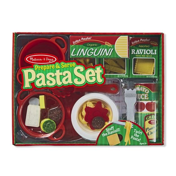 Melissa and Doug Prepare & Serve Pasta Set - Melissa and Doug