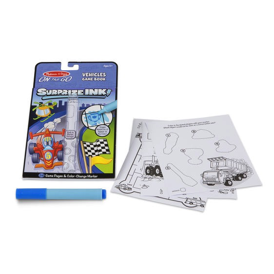 Melissa and Doug Surprize Ink! Vehicles - Melissa and Doug