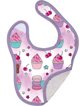 Baby JaR Reversible Bib - Sweet Treats - Baby JaR