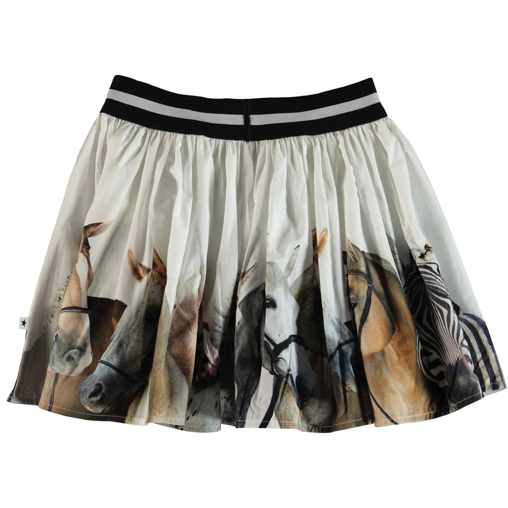 molo Brenda Skirt - Horse Stripe - Molo Kids