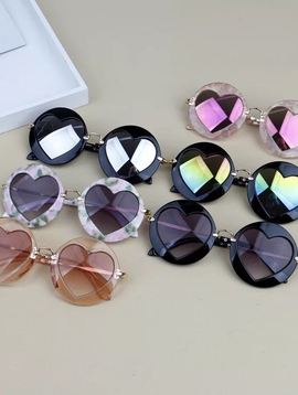 Survolte Kids Heart Sunglasses