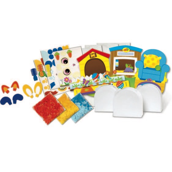 Melissa and Doug Shake It! Deluxe Pets Craft Kit - Melissa and Doug