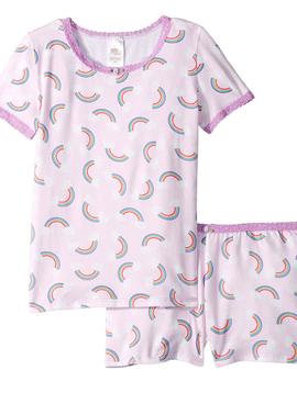 Esme Loungewear Esme Short Sleeve Pajamas - Rainbow