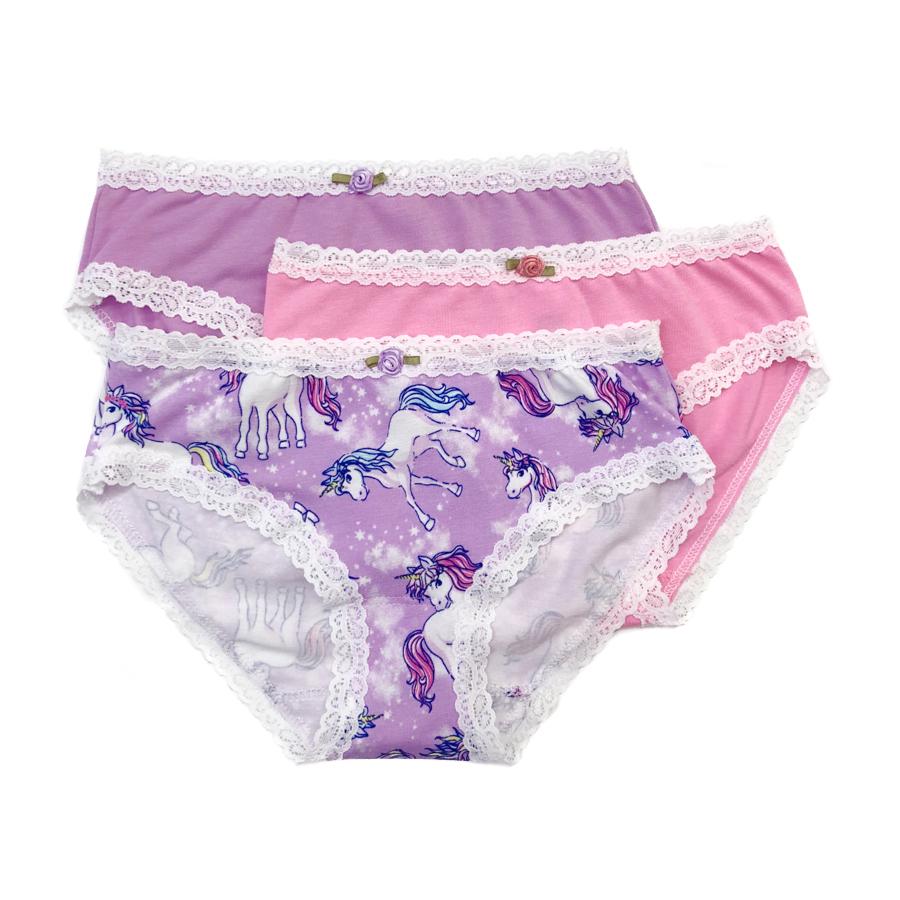 Esme Loungewear Panty 3-pack - Unicorn - Esme Loungewear