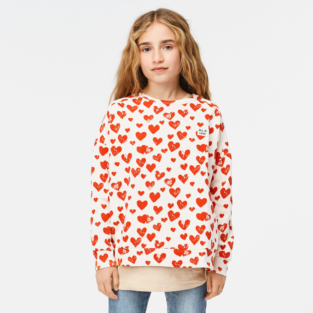 molo Mandy Sweatshirt - All is Love - Molo Kids Clothing
