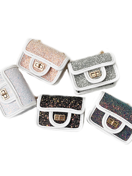 Survolte Glitter Purse