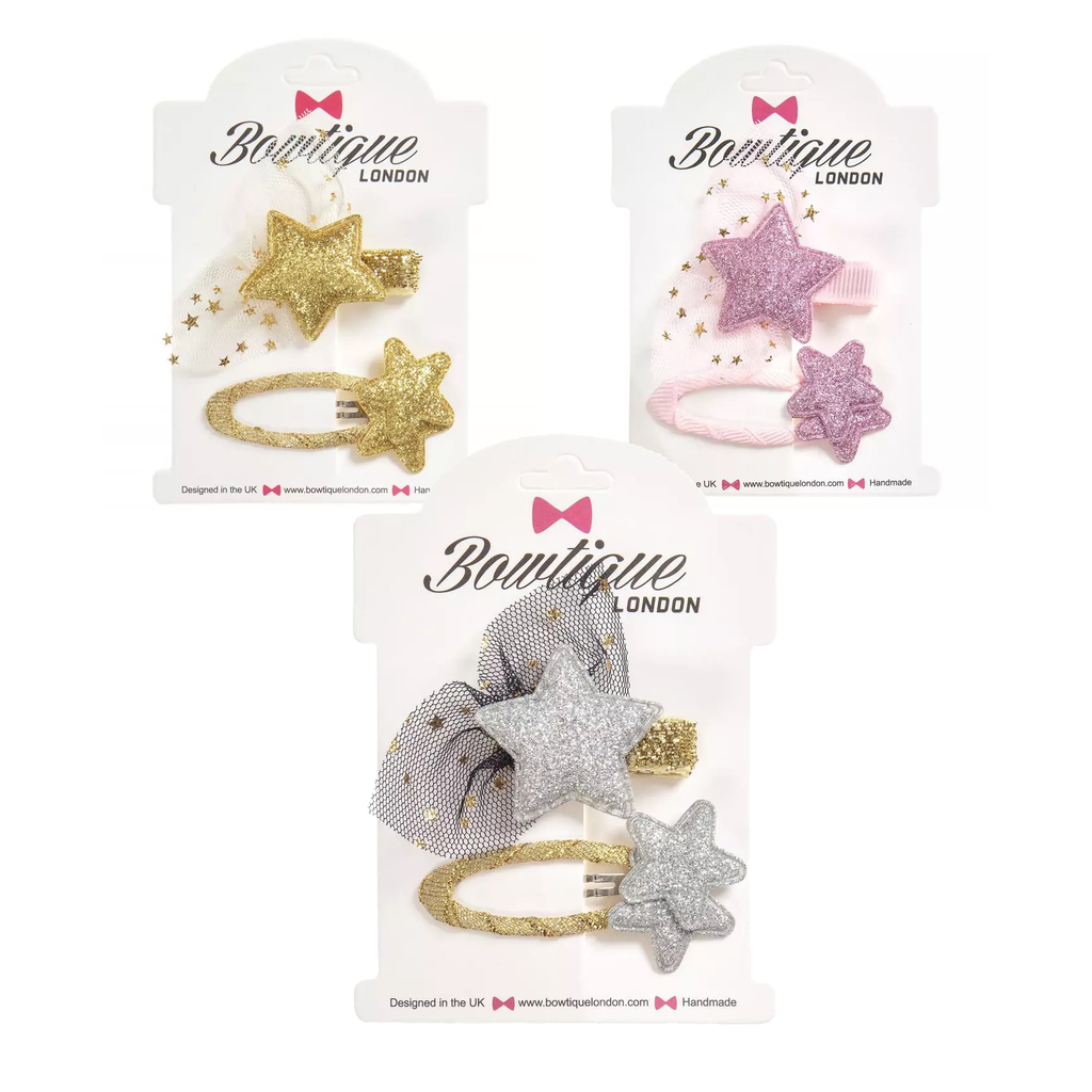 Survolte Glitter Clip Set