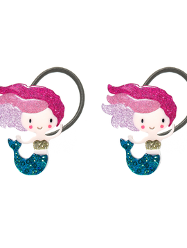 Lilies and Roses Ponytail - Underwater Pink Mermaid - Lilies and Roses