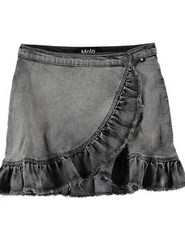 molo Brigitt Denim Skirt - Molo Kids Clothing