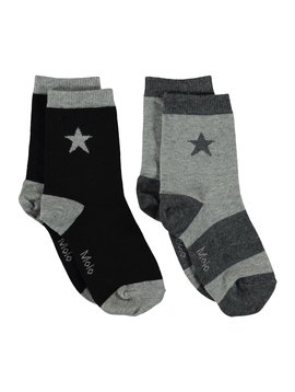 molo Nitis Socks - Grey - Molo Kids Clothing