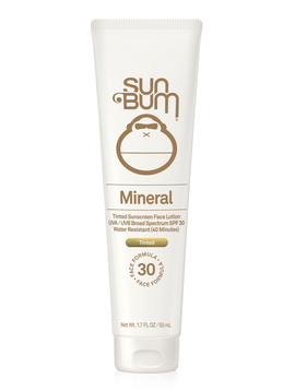 Sun Bum Mineral SPF 30 Tinted Face Lotion - Sun Bum