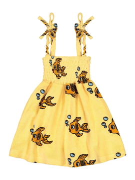 Hugo Loves Tiki Terry Dress - Yellow Fish - Hugo Loves Tiki