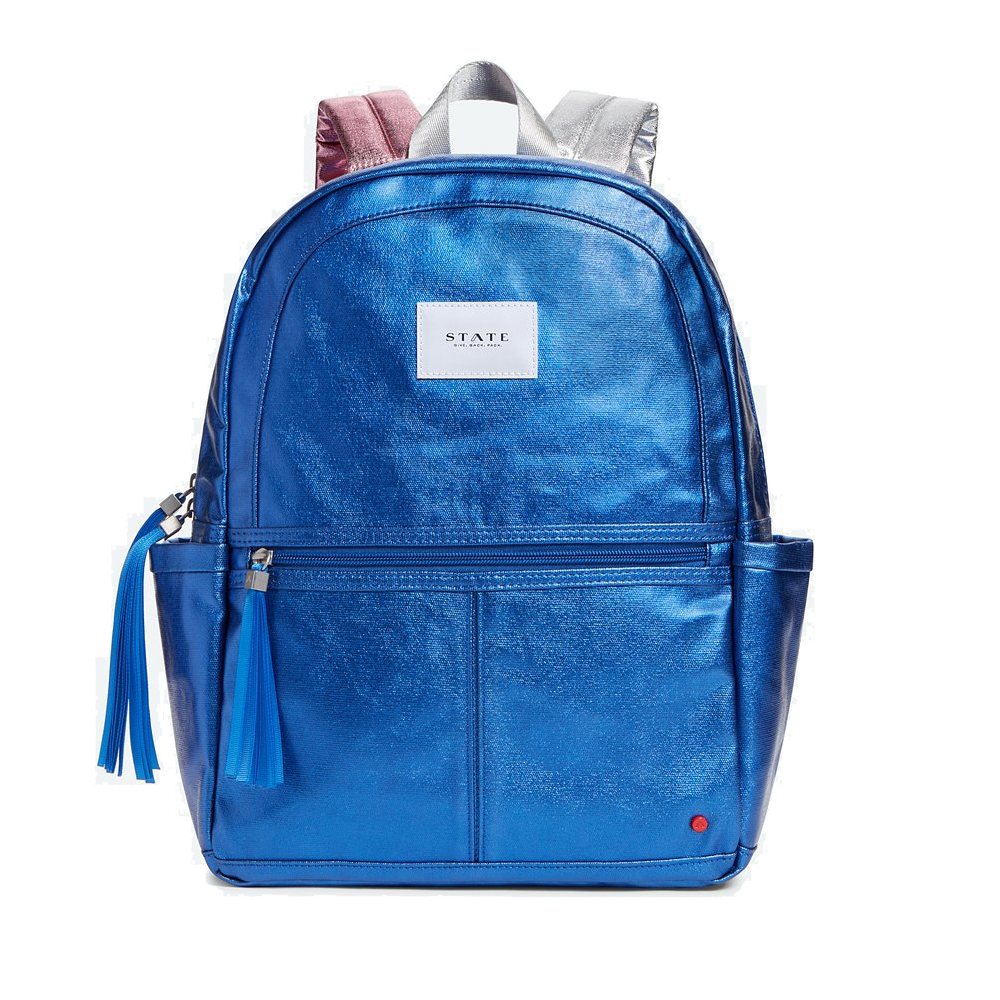 STATE Kane - Blue Metallic - State Backpack