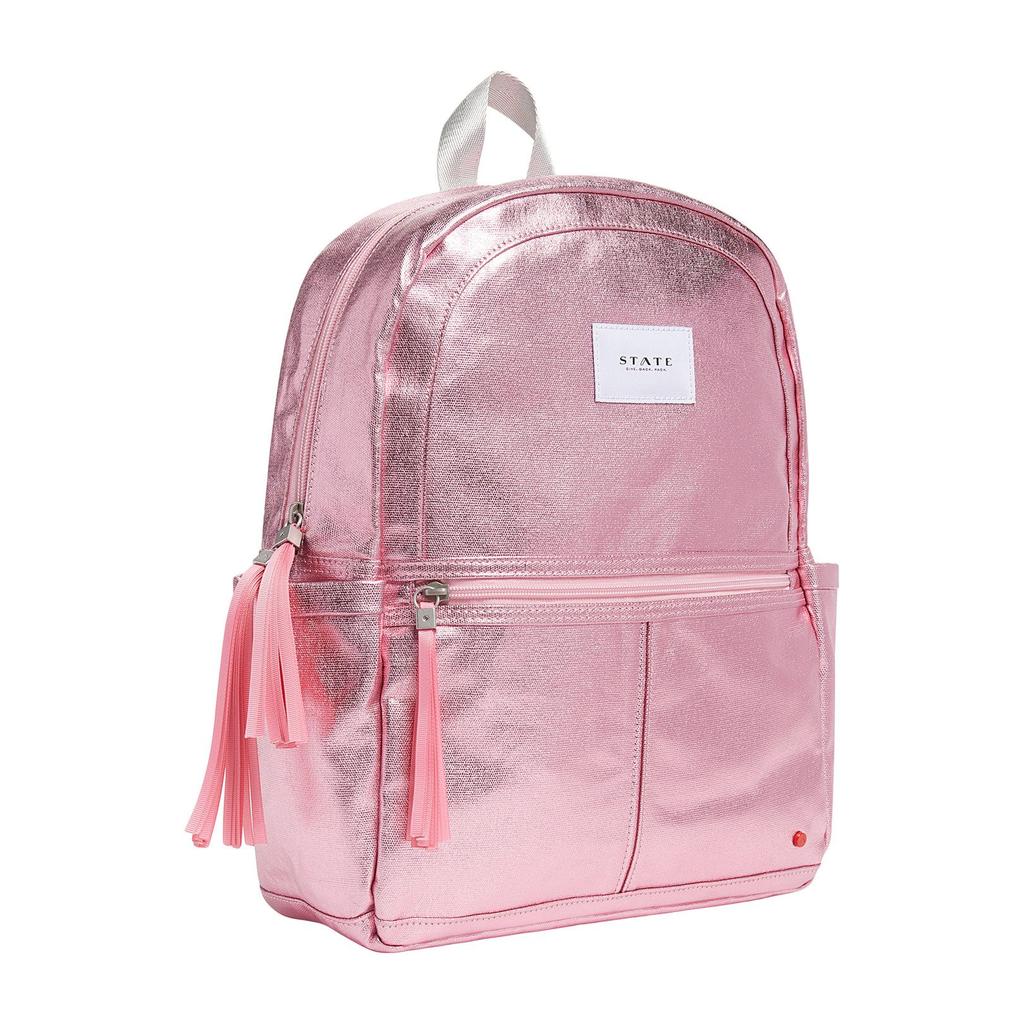 STATE Kane - Pink Metallic - State Backpack