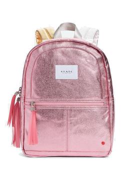 STATE Mini Kane - Pink Metallic - State Backpack