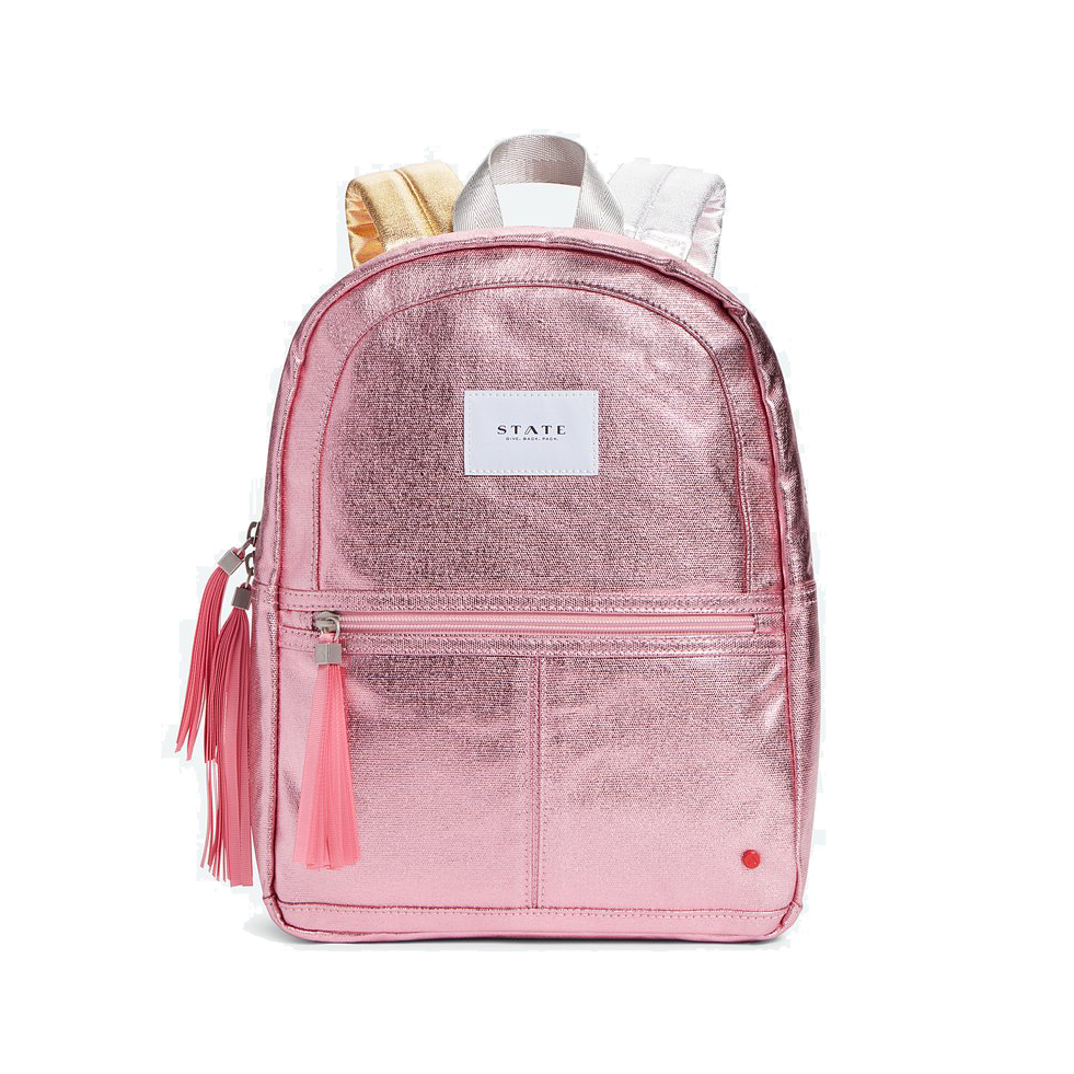STATE Mini Kane - Pink Metallic - State Backpack
