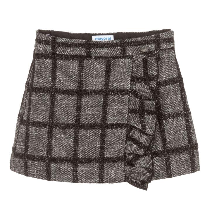 Mayoral Tweed Skort - Mayoral Clothing