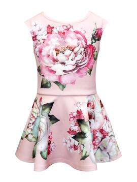 Sara Sara Floral Print Dress - Sara Sara
