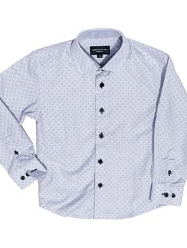 Leo & Zachary Slate Quarter Dress Shirt Leo and Zachary