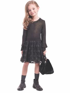 Imoga Saylor Dress - Black - Imoga Clothing