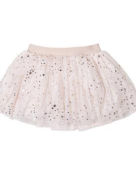 HUXBABY Gold Star Tulle Skirt - Huxbaby