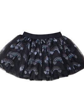 HUXBABY Rainbow Tulle Skirt - Huxbaby