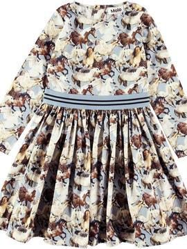 molo Christin Unicorns Dress - Molo Kids Clothing