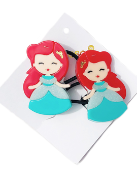 Lilies and Roses Ponytail - Princess Doll Red Hair - Lilies and Roses NY